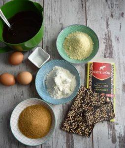 brownie noisettes amandes ingrédients