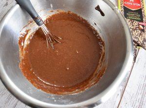 pâte brownie noisettes et amandes