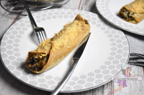 une crêpe farcie Quimper-Nice