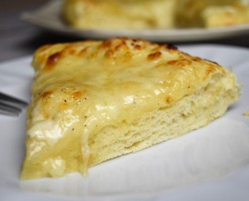 part de galette au fromage