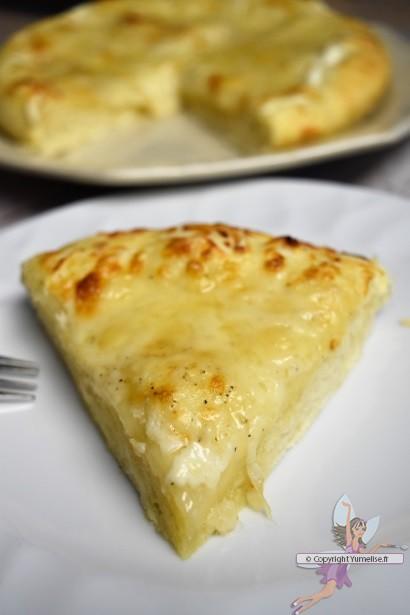 galette au fromage en part