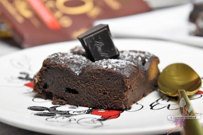 part du gâteau intensément chocolat