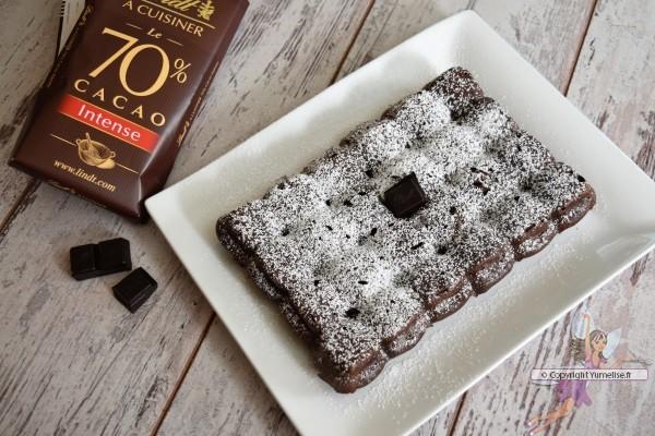 gâteau au chocolat Lindt intense