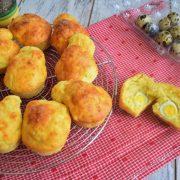 les mini-cakes aux oeufs de caille