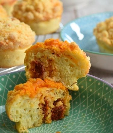 muffins crumble coupe