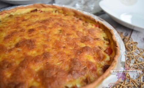 quiche tex mex fromage grillé
