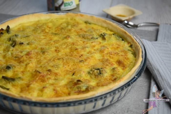 Tarte aux poireaux coco et curry yumelise recettes de cuisine - Tarte aux poireaux legere ...