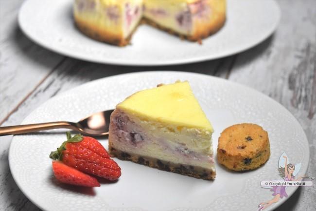 part cheesecake fraises