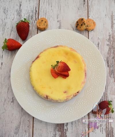 cheesecake fraises entier