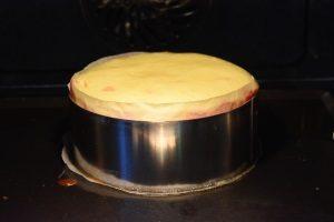 cheesecake aux fraises cuit