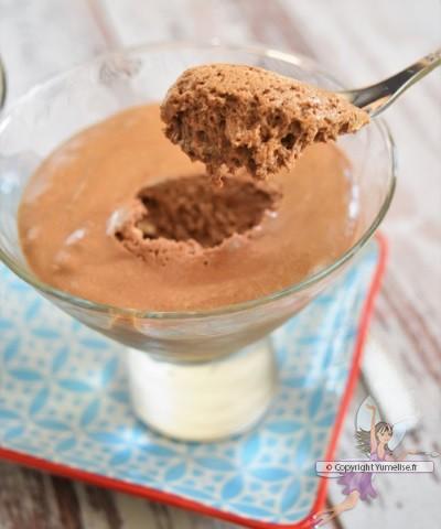 mousse caramel et chocolat