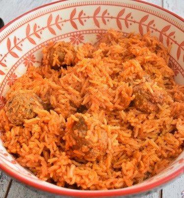 riz et boulettes au cookéo