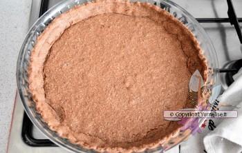 fond de tarte mousse chocllat cuit