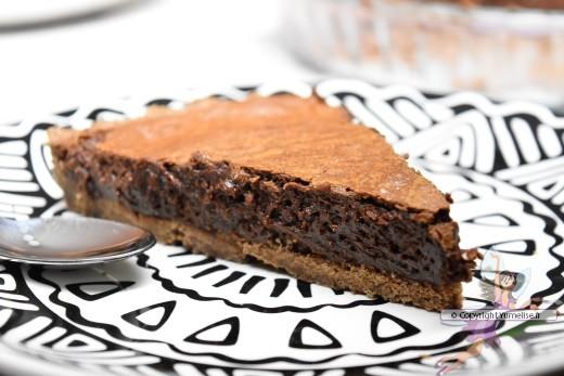 part de tarte à la mousse au chocolat de Christophe Felder