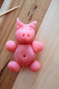cochon en pâte d'amande