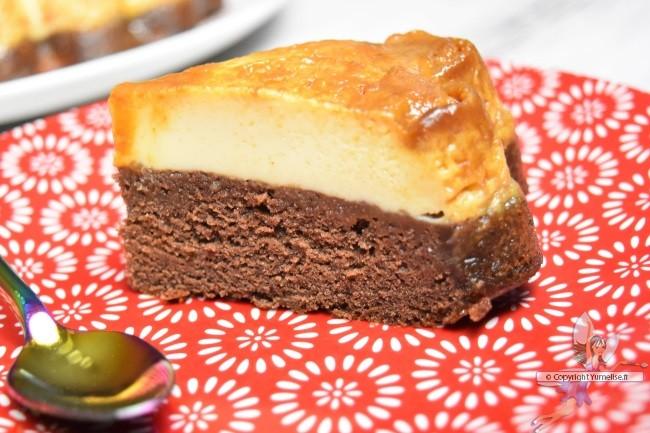 gâteau impossible en part