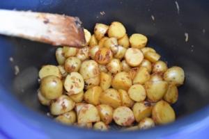 pommes de terre sautées cuites dans le Cookéo
