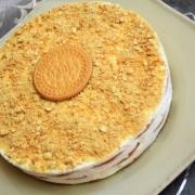 Bolo de Bolacha aux biscuits Maria