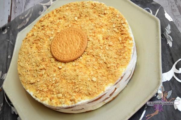 Bolo de Bolacha, gâteau aux biscuits Maria du Portugal