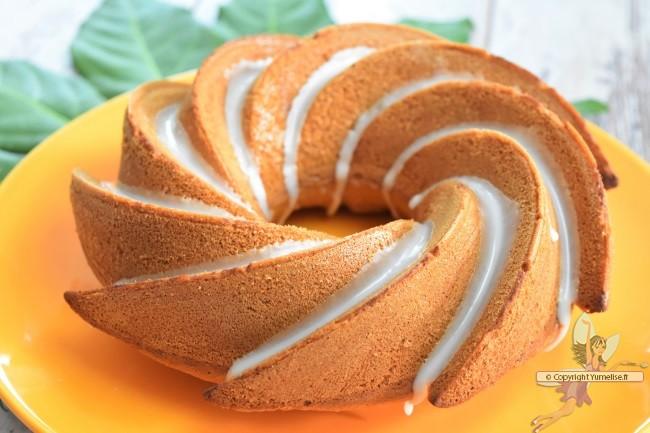 cake citron vert amande et glaçage