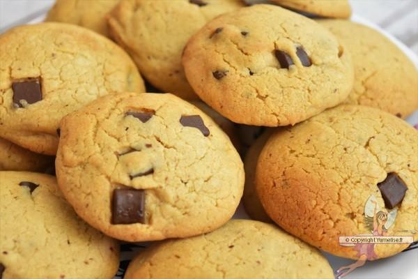 cookies noisette et lait concentré