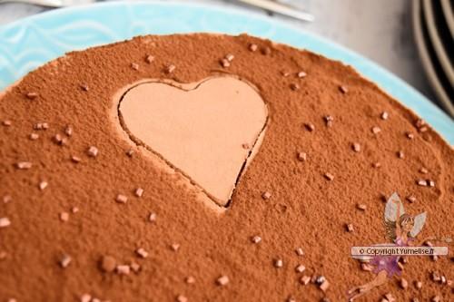 décoration du croquant chocolat