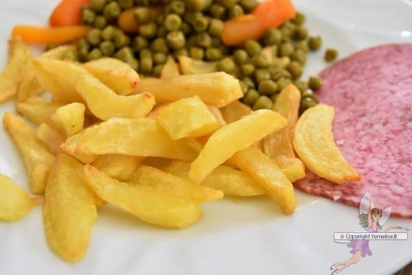 assiette de frites belges
