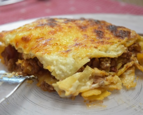 part de lasagnes mascarpone