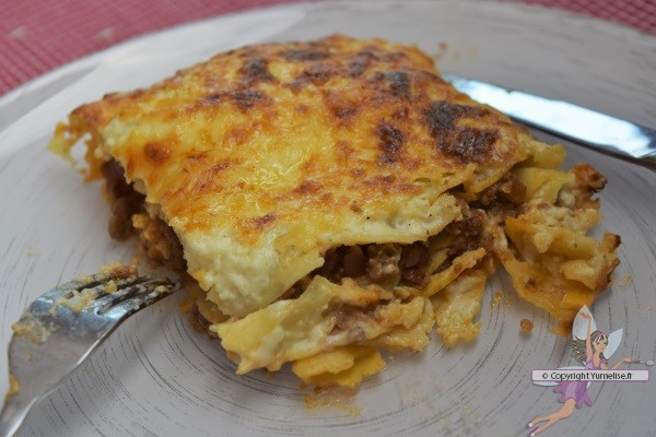 part de lasagnes au mascarpone