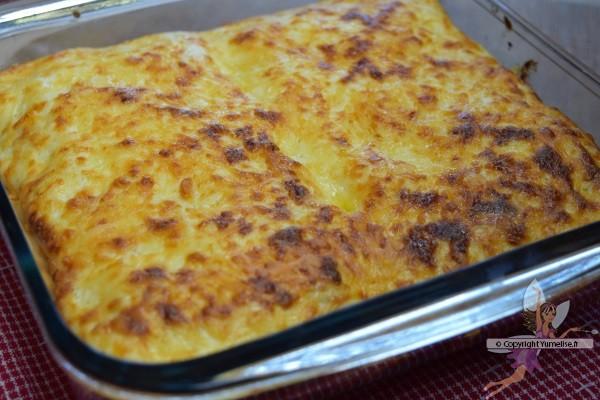 plat de lasagnes au mascarpone