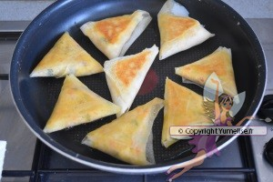 cuisson des samoussas
