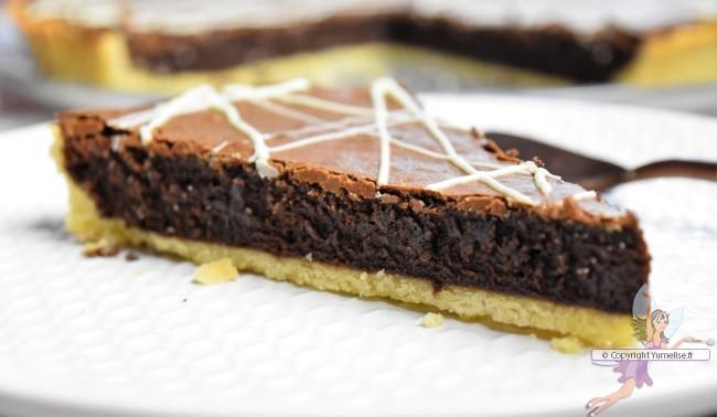 part tarte chocolat café