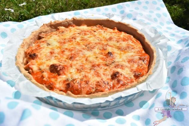 Tarte Thon Et Concentre De Tomate Recette De Poisson