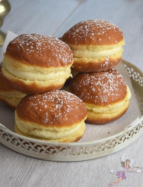 Boules de berlin yumelise recettes de cuisine - Recette boule de berlin moelleuse ...