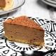part de cheesecake chocolat sans cuisson