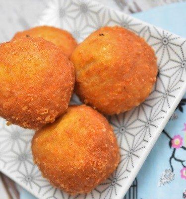 croquettes jambon et fromage cuites