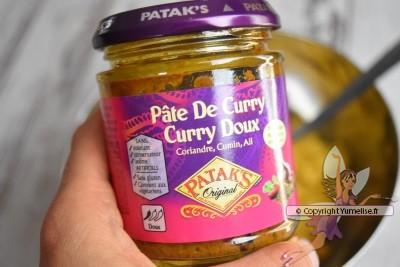 pâte de curry doux Patak's