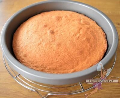gâteau amande cuit
