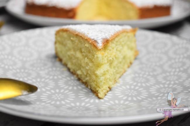 part de gâteau amande