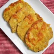 rôti de porc pané