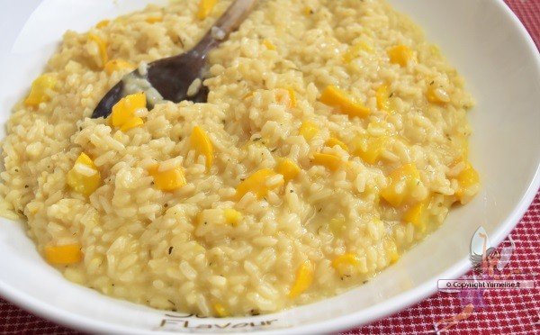 risotto à la courgette cuisson Cookéo