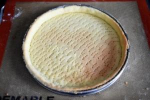 fond sablé de la tarte aux groseilles