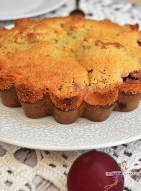 tarte flamande avec des prunes
