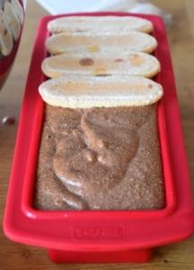 mousse chocolat et biscuits à la cuillère