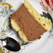 part de terrine au chocolat