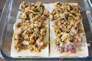montage lasagnes courgette 3