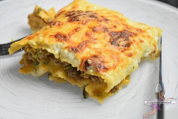 lasagnes à la courgette et philadelphia