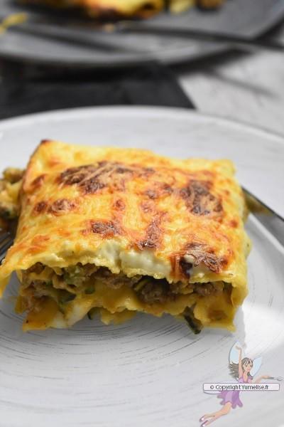 lasagnes à la courgette