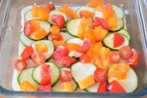 dés de tomate