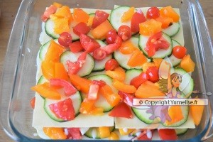 courgettes tomates